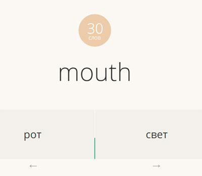 слово-перевод