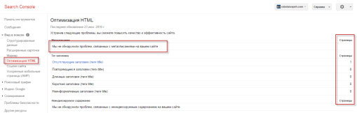 оптимизация html