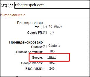 анализ сайта rabotaiuspeh.com